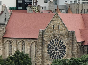 St Georges Cathedral reroof Cape Town